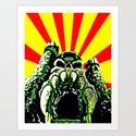 Castle Grayskull (He Man & The Masters Of The Universe) Art Print