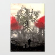 Fallout Variant poster Canvas Print