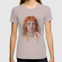 Leeloo Womens Fitted Tee Cinder SMALL