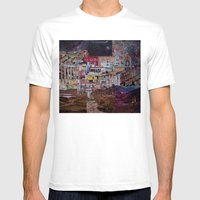 Structures Mens Fitted Tee White SMALL