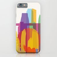 iPhone & iPod Case featuring Shapes of Singapore. by Glen Gould