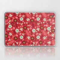 Fresh Blossoms (Reds) Laptop & iPad Skin