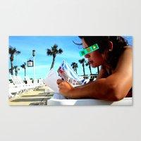SunTan-ing Canvas Print