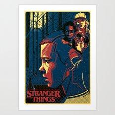 Stranger Things Art Print