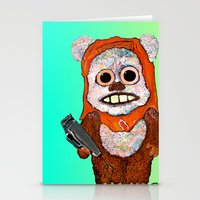 Eccentric Ewok Stationery Cards