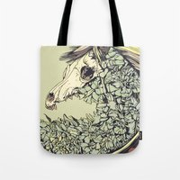Beautiful Horse Old Tote Bag