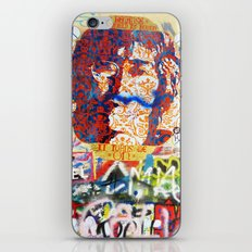 Peace on Earth - Love - Because the World is Round it Turns me On iPhone & iPod Skin