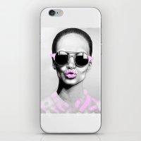 + SMOKE AND MIRRORS + iPhone & iPod Skin