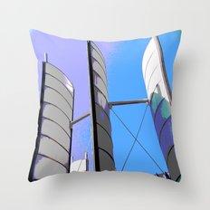 Metal Sails #2 Throw Pillow