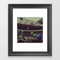 Coldplay At Wembley Framed Art Print