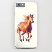 horse iPhone & iPod Cases featuring Horse // Boundless by Amy Hamilton