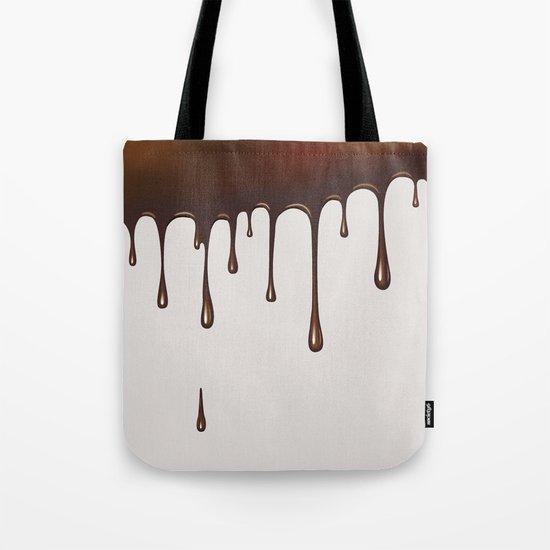Chocolate Rain Tote Bag