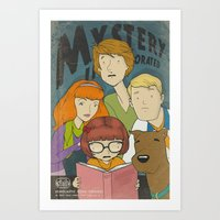 Mystery Incorporated  Art Print