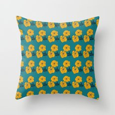 Marigold Repeat Throw Pillow