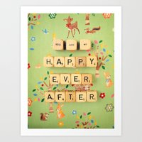 You Are My Happy Ever Af… Art Print
