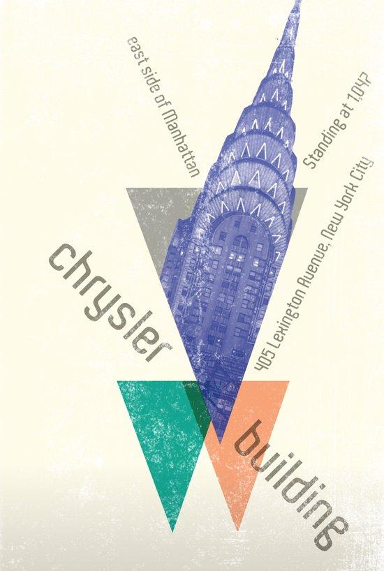 chysler building Art Print