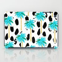 Palm Trees And Dots iPad Case