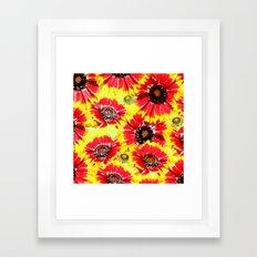 OrangeYellow10 Framed Art Print