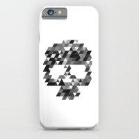 Skull bw w iPhone 6 Slim Case