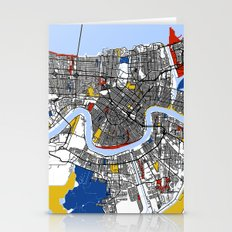 New Orleans Mondrian Stationery Cards