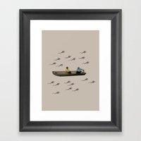 River Of Life Framed Art Print