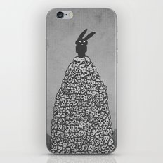 The Black Bunny of Doom in his natural habitat iPhone & iPod Skin