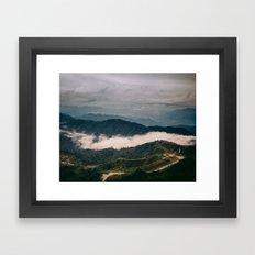 hiking in malaysia Framed Art Print