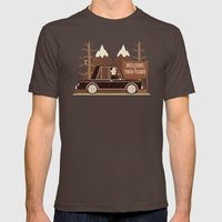 A Place Both Wonderful A… Mens Fitted Tee Brown SMALL