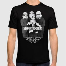 STORMTROOPERS SMALL Mens Fitted Tee Black
