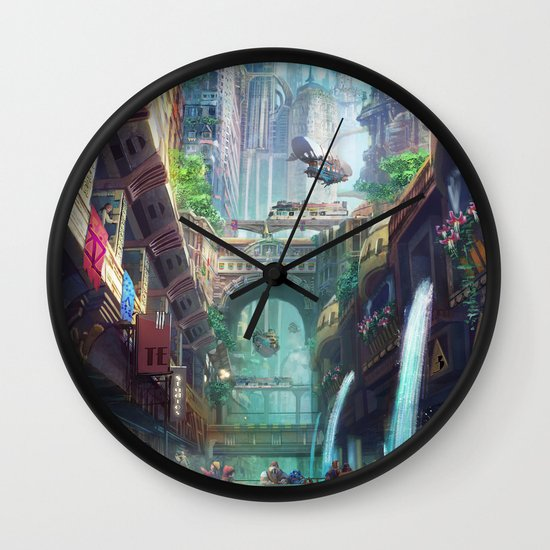 Royal City Escadia  Wall Clock