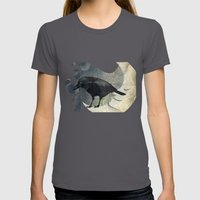 From a raven child Womens Fitted Tee Asphalt SMALL