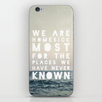 Homesick iPhone & iPod Skin