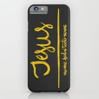Jesus - nome sobre todo nome iPhone 6 Slim Case