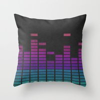 Equalize Throw Pillow