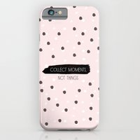 iPhone & iPod Case featuring Collect Moments, not Things by Menina Lisboa
