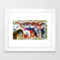 Hausu Tribute (Complete) Framed Art Print