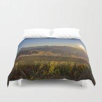 Sunrise On The Blue Ridg… Duvet Cover