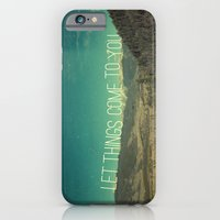 iPhone & iPod Case featuring Let Things Come To You by Pope Saint Victor