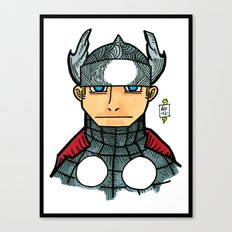 thorrific Canvas Print