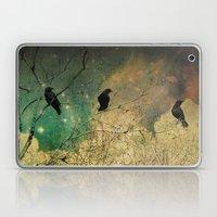 Retro Clouds Laptop & iPad Skin