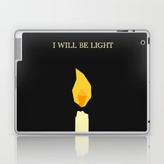 I will be light Laptop & iPad Skin