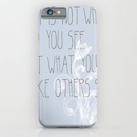 Not What You See iPhone 6 Slim Case
