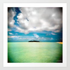Maldives 01 01 Art Print
