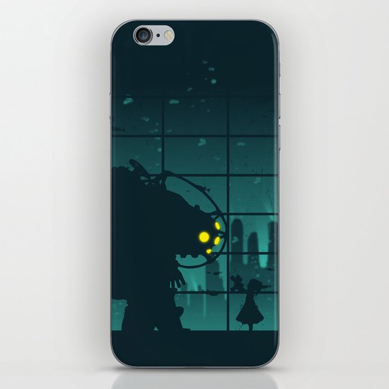 Come on, Mr. Bubbles! iPhone & iPod Skin