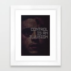 mr.robot_eps2.0_unm4sk-pt1.tc Framed Art Print