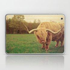 Scottish Highland Steer - regular version Laptop & iPad Skin