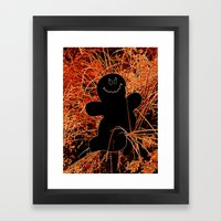 Boo! Framed Art Print