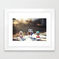 download love sequence.RAR Framed Art Print