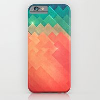 iPhone & iPod Case featuring pwwr thyng by Spires