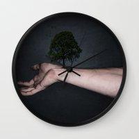 Nature inside me Wall Clock